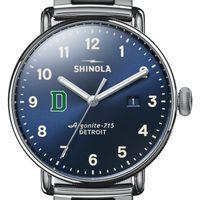 Dartmouth Shinola Watch, The Canfield 43mm Blue Dial