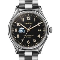 Old Dominion Shinola Watch, The Vinton 38mm Black Dial