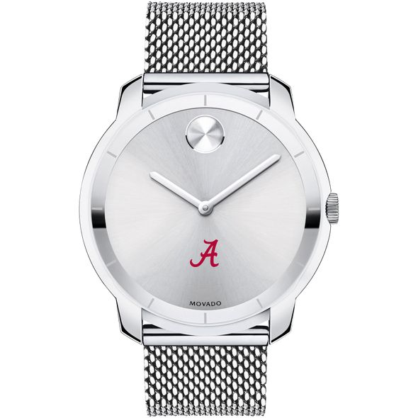 University of Alabama Men's Movado Stainless Bold 44 - Image 2