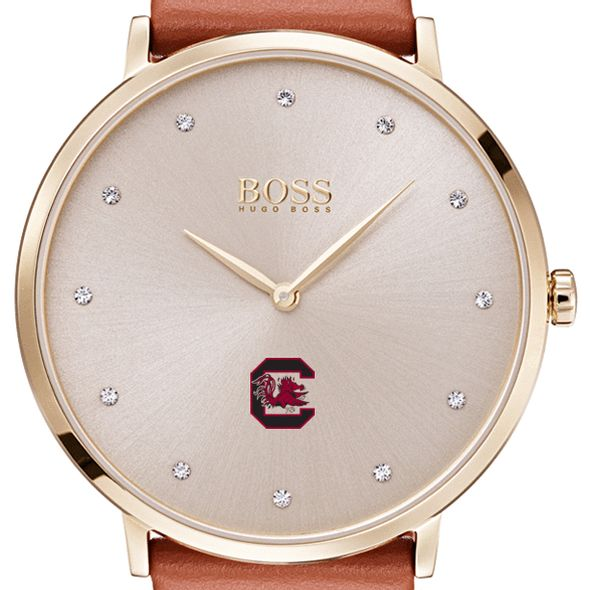 University of South Carolina Women's BOSS Champagne with Leather from M.LaHart