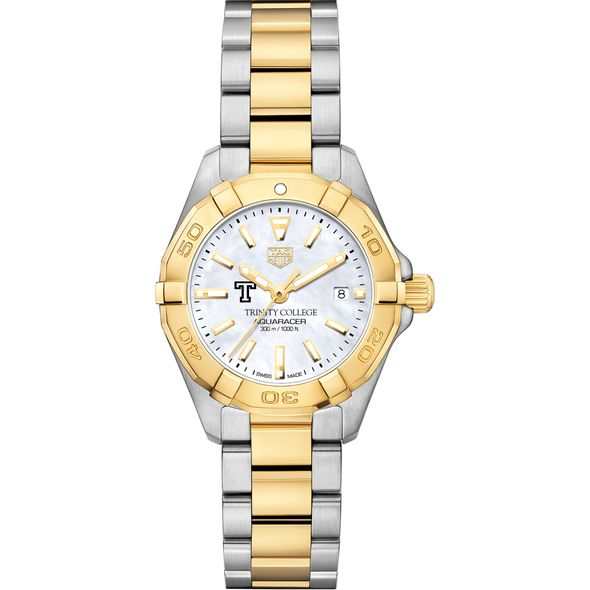 Trinity College TAG Heuer Two-Tone Aquaracer for Women - Image 2