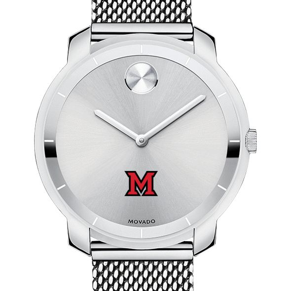 Miami University Women's Movado Stainless Bold 36