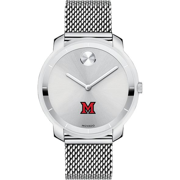 Miami University Women's Movado Stainless Bold 36 - Image 2