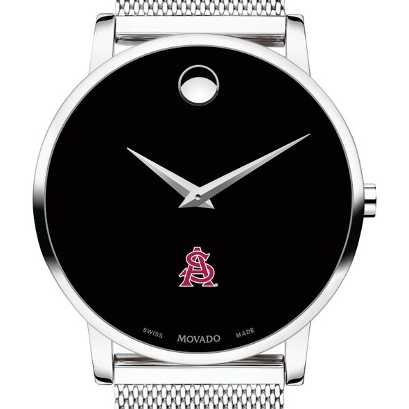 Arizona State Men's Movado Museum with Mesh Bracelet