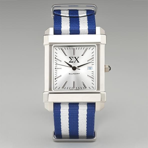 Sigma Chi Men's Collegiate Watch w/ NATO Strap - Image 2