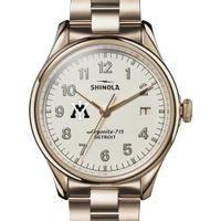 VMI Shinola Watch, The Vinton 38mm Ivory Dial