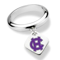 Holy Cross Sterling Silver Ring with Sterling Tag