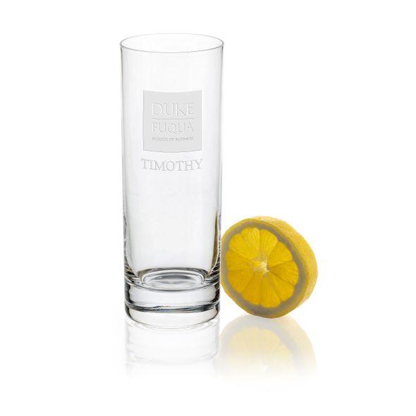 Duke Fuqua Iced Beverage Glasses - Set of 2 - Image 1