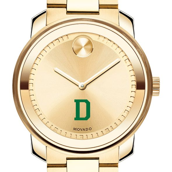 Dartmouth College Men's Movado Gold Bold