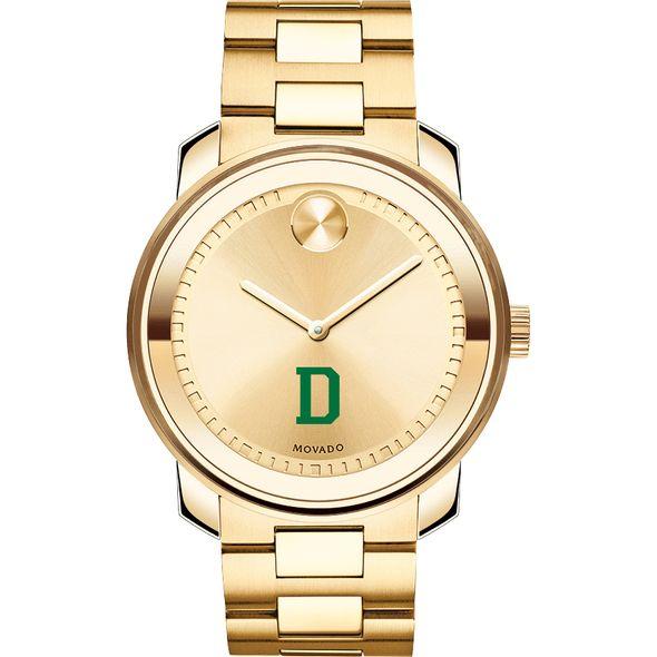 Dartmouth College Men's Movado Gold Bold - Image 2