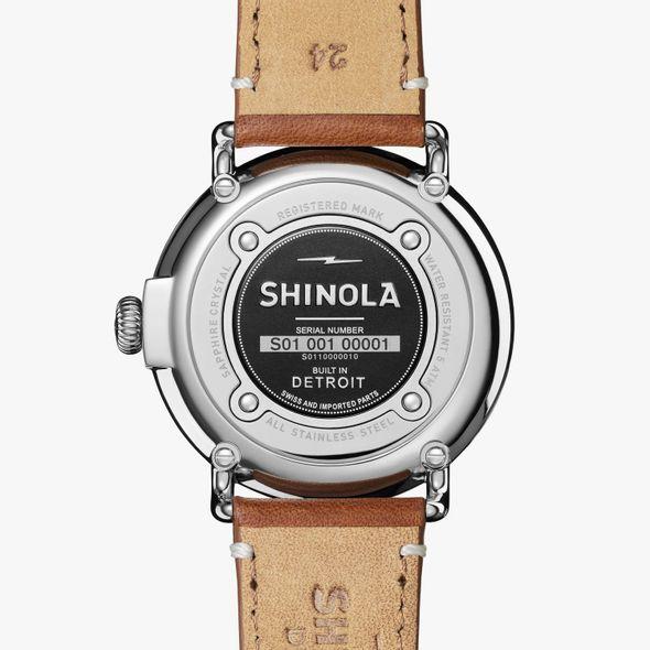 Brown Shinola Watch, The Runwell 47mm Midnight Blue Dial - Image 3
