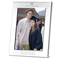 Houston Polished Pewter 5x7 Picture Frame