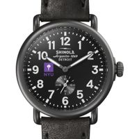 NYU Shinola Watch, The Runwell 41mm Black Dial