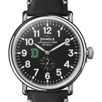 Dartmouth Shinola Watch, The Runwell 47mm Black Dial