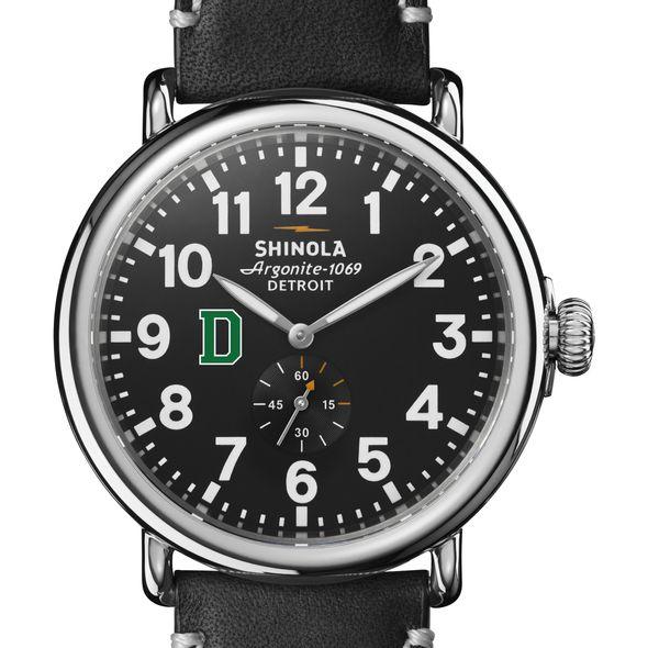 Dartmouth Shinola Watch, The Runwell 47mm Black Dial - Image 1