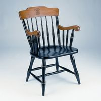 Brown Captain's Chair by Standard Chair