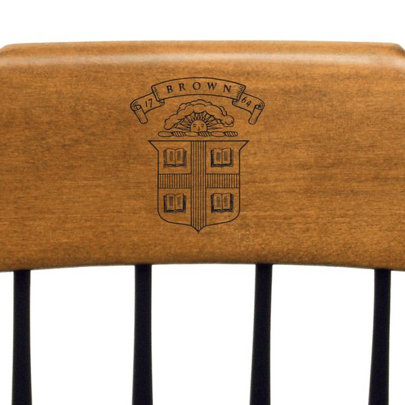 Brown Captain's Chair by Standard Chair - Image 2