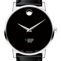 Columbia Business Men's Movado Museum with Leather Strap