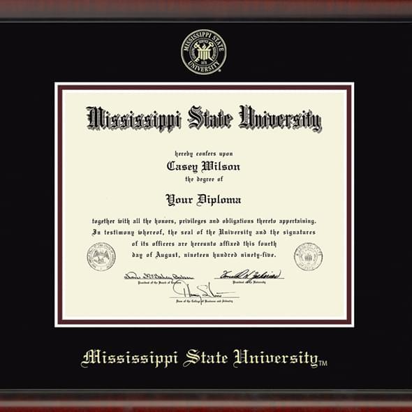 Mississippi State Fidelitas Frame - Image 2