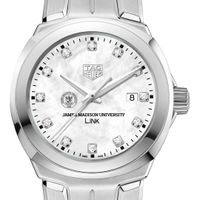 James Madison University TAG Heuer Diamond Dial LINK for Women