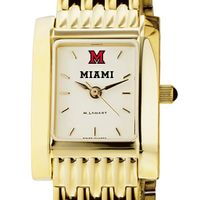 Miami University Women's Gold Quad with Bracelet