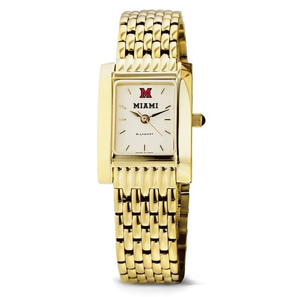 Miami University Women's Gold Quad with Bracelet - Image 2