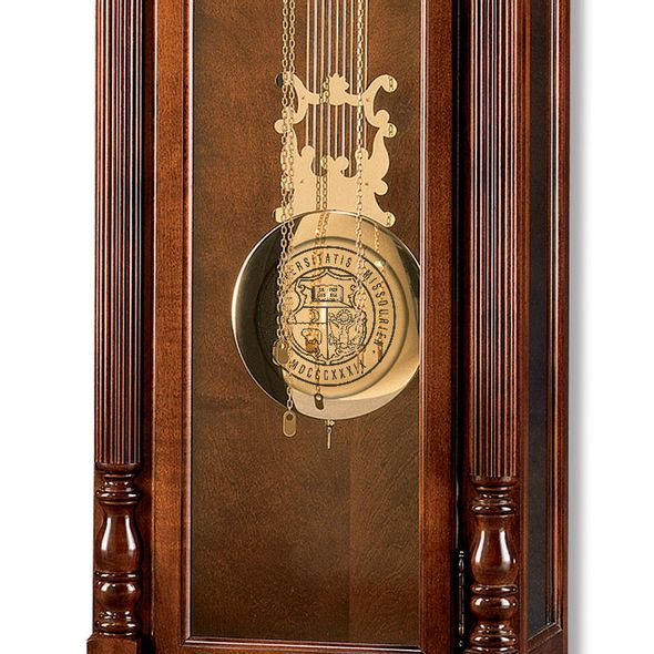 University of Missouri Howard Miller Grandfather Clock - Image 2
