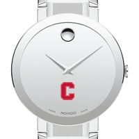 Cornell University Men's Movado Sapphire Museum with Bracelet