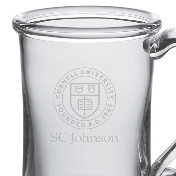SC Johnson College Glass Tankard by Simon Pearce - Image 2