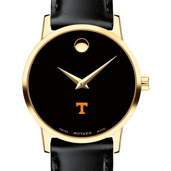 University of Tennessee Women's Movado Gold Museum Classic Leather
