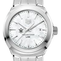 College of William & Mary TAG Heuer LINK for Women