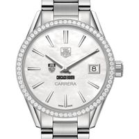 Chicago Booth Women's TAG Heuer Steel Carrera with MOP Dial & Diamond Bezel