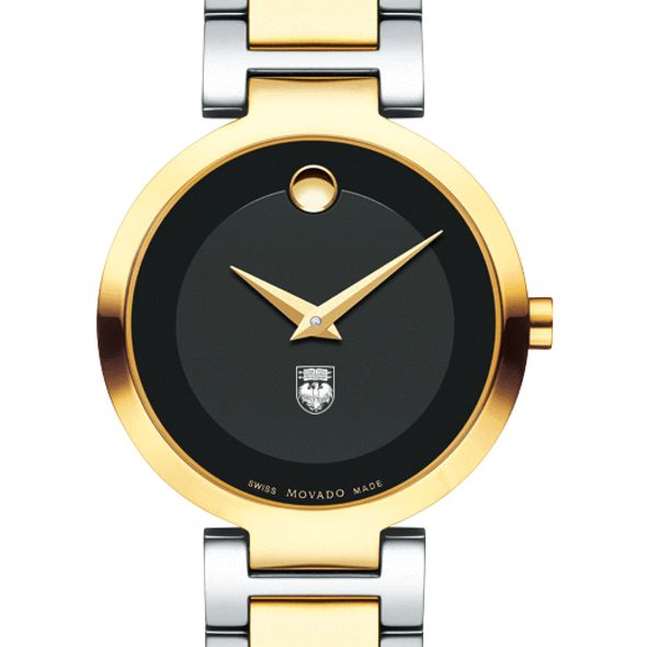 University of Chicago Women's Movado Two-Tone Modern Classic Museum with Bracelet - Image 1