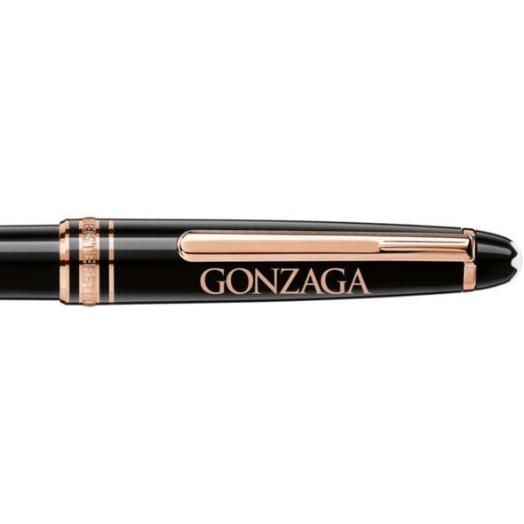 Gonzaga Montblanc Meisterstück Classique Ballpoint Pen in Red Gold - Image 2