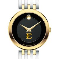 East Tennessee State Women's Movado Esparanza Two-Tone Museum with Bracelet