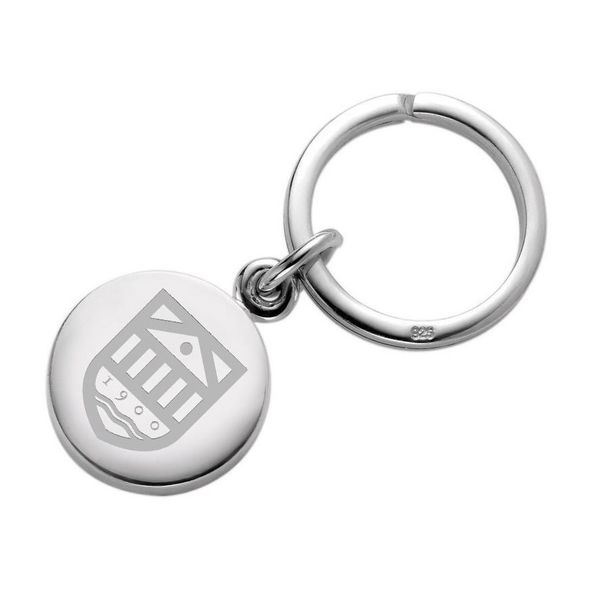 Tuck Sterling Silver Insignia Key Ring
