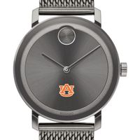 Auburn University Men's Movado BOLD Gunmetal Grey with Mesh Bracelet