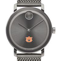 Auburn University Men's Movado BOLD Gunmetal Grey with Mesh Bracelet
