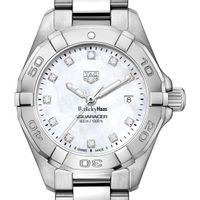 Berkeley Haas Women's TAG Heuer Steel Aquaracer with MOP Diamond Dial