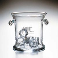 MIT Sloan Glass Ice Bucket by Simon Pearce