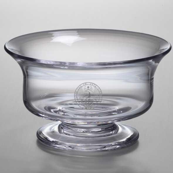 Davidson College Simon Pearce Glass Revere Bowl Med