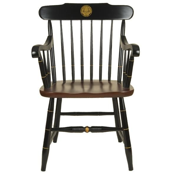 US Merchant Marine Academy Captain's Chair by Hitchcock
