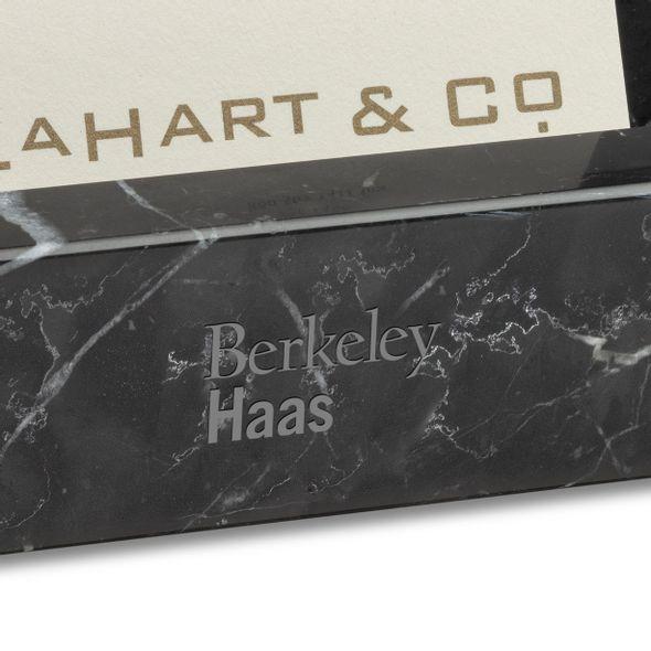 Berkeley Haas Marble Business Card Holder - Image 2