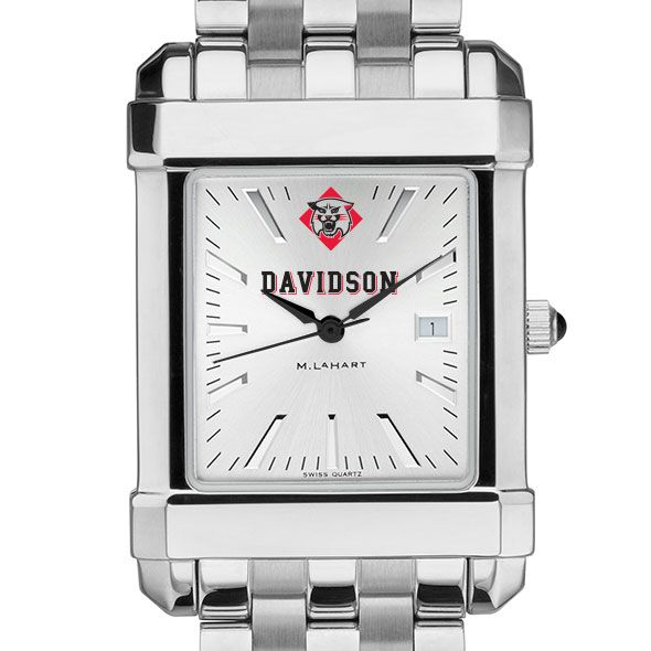 Davidson College Men's Collegiate Watch w/ Bracelet