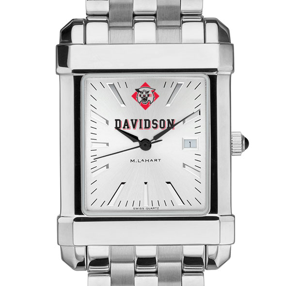 Davidson College Men's Collegiate Watch w/ Bracelet - Image 1