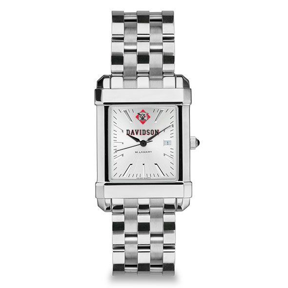 Davidson College Men's Collegiate Watch w/ Bracelet - Image 2