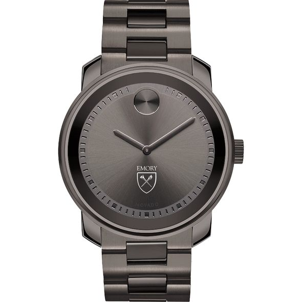Emory University Men's Movado BOLD Gunmetal Grey - Image 2