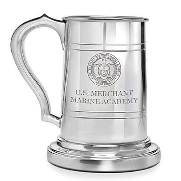 Merchant Marine Academy Pewter Stein