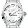 Indiana University TAG Heuer Diamond Dial LINK for Women - Image 1