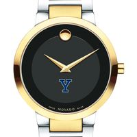 Yale University Men's Movado Two-Tone Modern Classic Museum with Bracelet